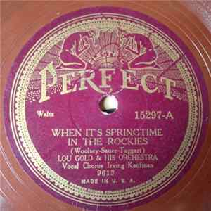 Download Lou Gold & His Orchestra - When It's Springtime In The Rockies / Dark Eyes Flac
