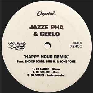 Download Jazze Pha & Ceelo Featuring Snoop Dogg, Bun B. & Tone Tone - Happy Hour (Remix) Flac