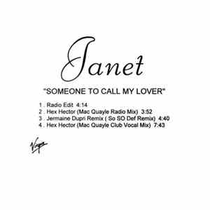 Download Janet - Someone To Call My Lover Flac